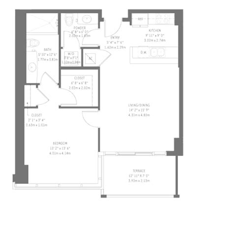 midtown 4 floor plans midtown 4 miami condos for sale and rent bogatov realty
