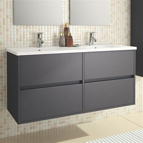 eco line noja 1200 wall mounted 4 drawer vanity