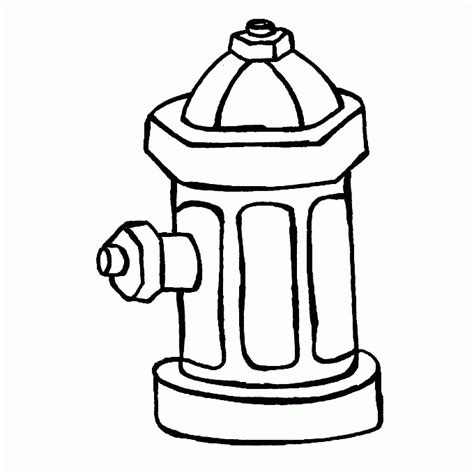Hydrant Coloring Pages hydrant coloring page coloring home