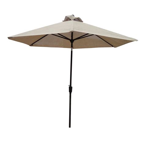 8 Patio Umbrella Sunjoy Henry 8 Ft Aluminum Cantilever Patio Umbrella In