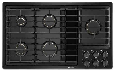 jenn air cooktops downdraft jenn air 36 quot jx3 gas cooktop with downdraft jgd3536gb