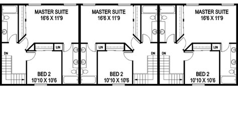 Triplex Floor Plans by Triplex Home Plans Studio Design Gallery Best Design