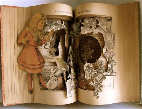 libro the wonder land creative classic fairy tale characters crawl out of their storybooks favbulous
