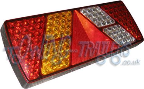Lu Led 24v large led 12 24v multi function left rear light