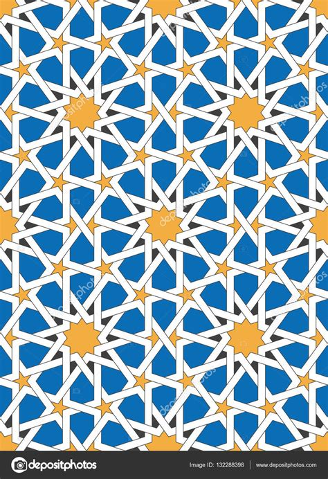 traditional islamic pattern vector islamic geometric ornaments based on traditional arabic