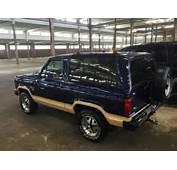 1985 Ford Bronco Ii Eddie Bauer 4x4 California Car 130k Miles