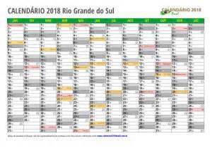 Calendario 2018 Rs Calend 193 2018 Para Imprimir Feriados