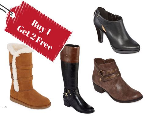 boot c for bad free buy 1 get 2 free jcpenney boots sale southern savers