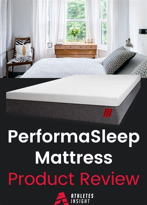 mattress brand reviews performasleep mattress product review 30 days of sleep review