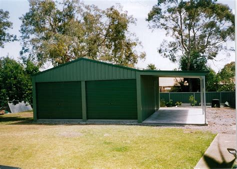 garage  lean  shed world