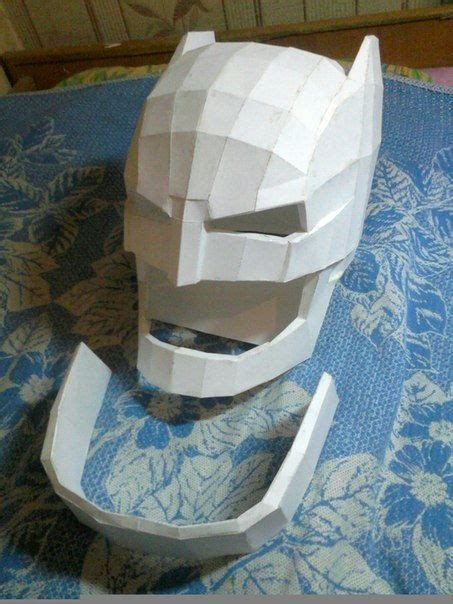 Papercraft Helmet - batman v superman size batman helmet for