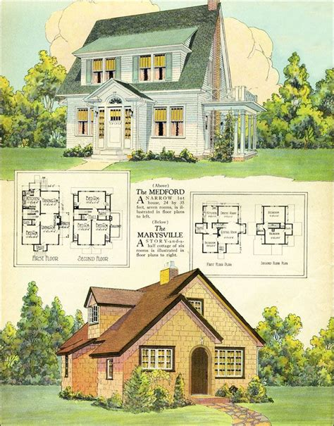 home plan magazines 296 best images about vintage house plans on pinterest