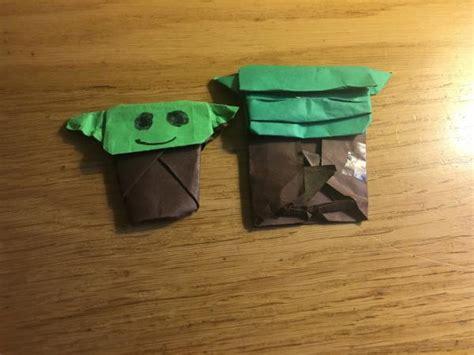 Origami Jahnke Yoda - jahnke yoda and cover yoda origami yoda