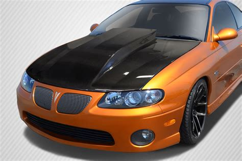 extreme dimensions inventory item   pontiac gto carbon creations cowl