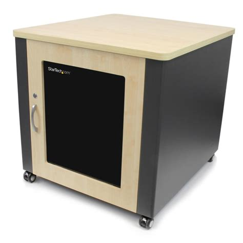 Cabinet Casters by Startech Soundproof Server Rack With