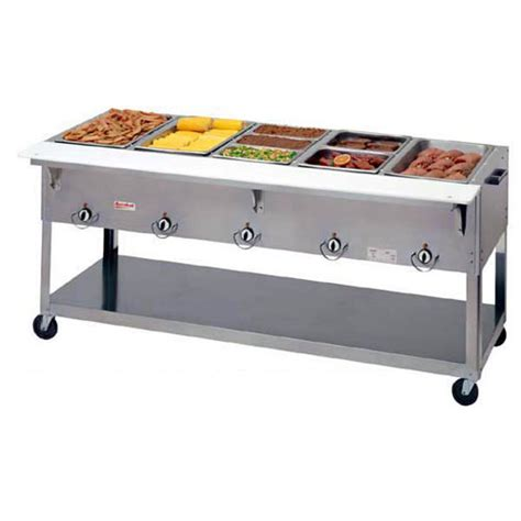 portable steam table shop 5 well steam tables warming holding equipment at