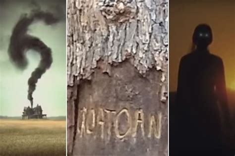 themes of american horror story leaked american horror story set photos may have ruined