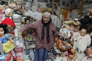 18 Doll Desk Cheshire Hoarder Facing Eviction From Home Of 61 Years