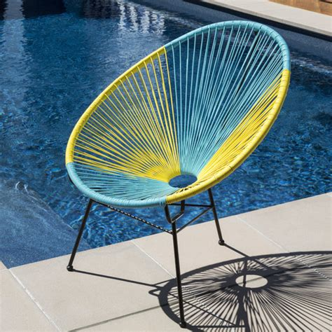 acapulco lounge chair replica replica outdoor acapulco chair temple webster