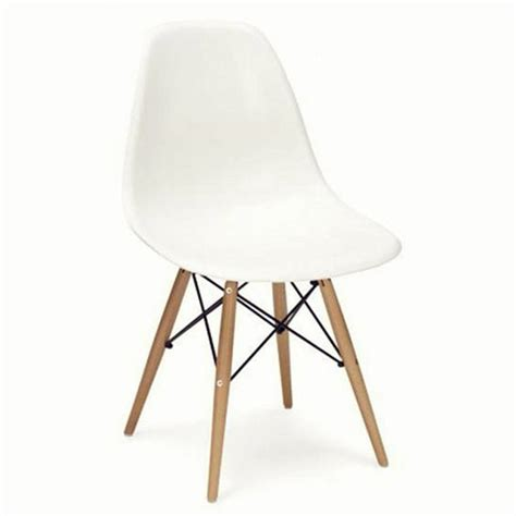 eames style dining chair dining chair eames style wood base by ciel