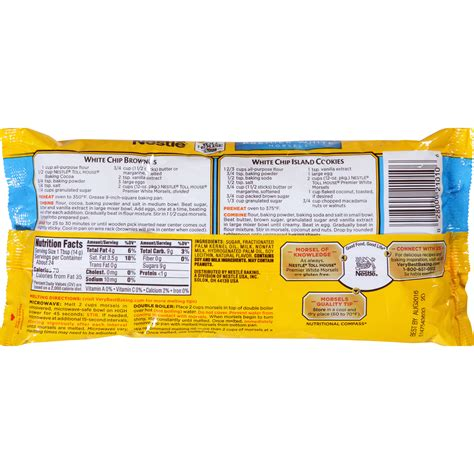 nestle toll house recipe nestle milk chocolate chips nutrition nutrition ftempo