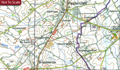belgium topographic map belgium 50k topographic survey maps stanfords