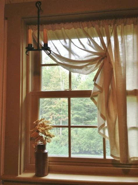 windows drapes 1000 ideas about small windows on pinterest small window curtains small window treatments