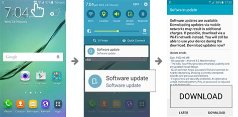 how to upgrade software on samsung galaxy s software upgrade samsung in