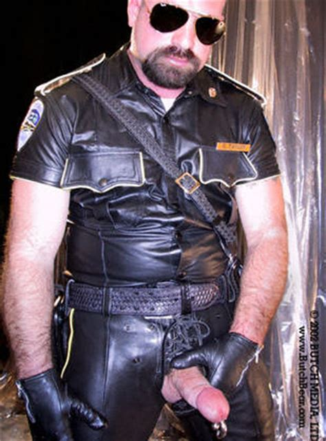 gloved  booted men hot gloved leather bears