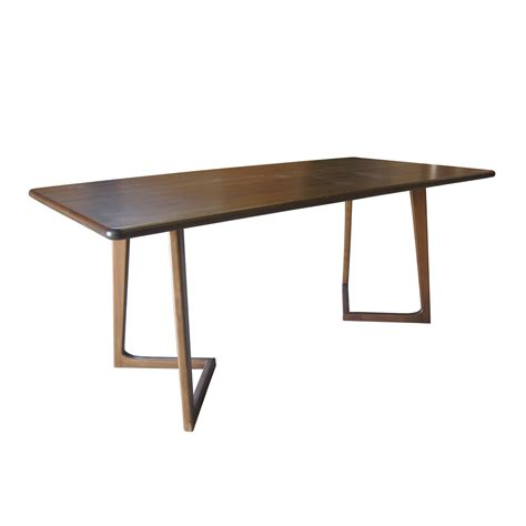 Standard Dining Table Perry Dining Table Standard Nuans Touch Of Modern