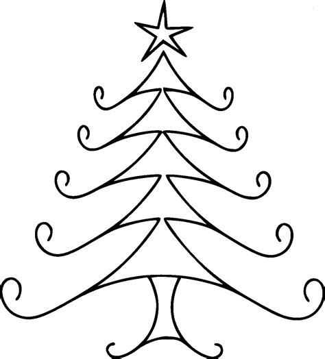 dibujos arboles de navidad dibujos de 193 rboles de navidad para colorear e imprimir