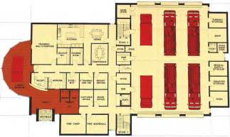 fire station on pinterest fire site plans and floor plans fire station design floor plans fire department floor