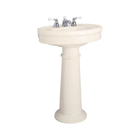 standard bathroom sink american standard collection pedestal combo bathroom sink in linen 0283 800 222 the