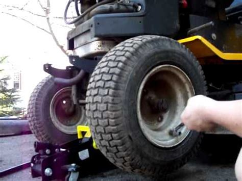 seating lawn mower tire how to re seat a tire bead on a tractor
