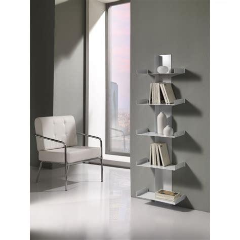 libreria da parete libreria da parete moderna 5 ripiani in metallo verniciato