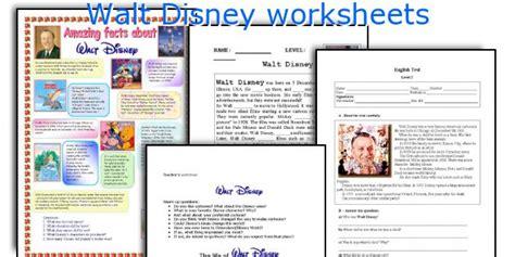 biography esl lesson plan english teaching worksheets walt disney