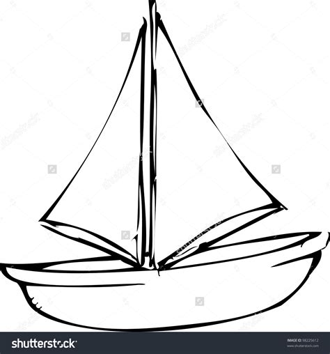 how to draw a boat simple simple boat sketch pencil drawings sketch