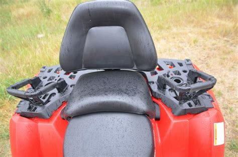 passenger seat for atv 2013 two up heavyweight atv shootout atv