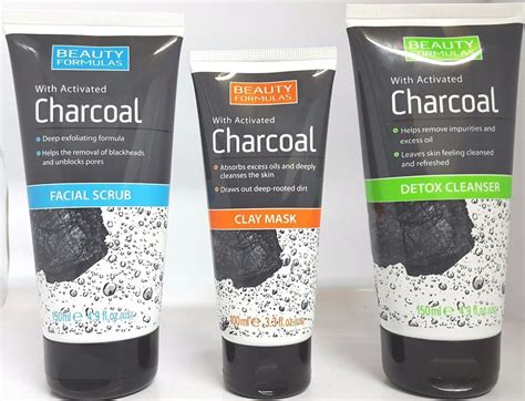 Dermedicine Charcoal Detox Mask by Formulas Charcoal Clay Mask Scrub Mask