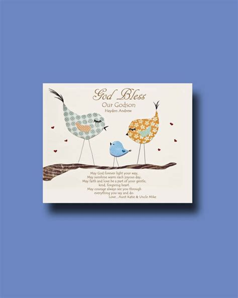 godson gifts godson gift gift for our godson personalized gift for
