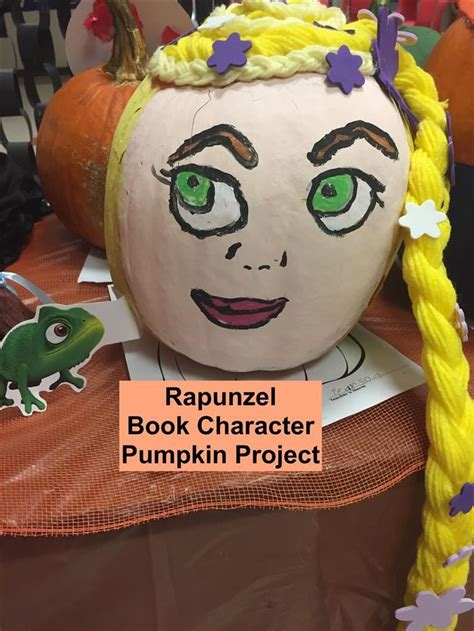 library services pumpkin projects book characters