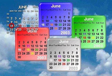 Calendar Desktop Gadget Rainlendar