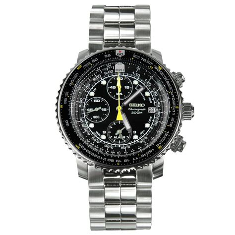 Seiko Chronograph Fb seiko sna411p1 chronograph 200m pilot watches sna411