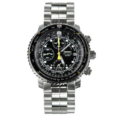 Seiko SNA411P1 Chronograph 200m Pilot Watches SNA411