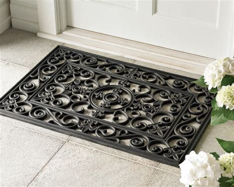 Outside Door Mats For Steps Fleur De Lys Rubber Doormats And Stair Treads Williams