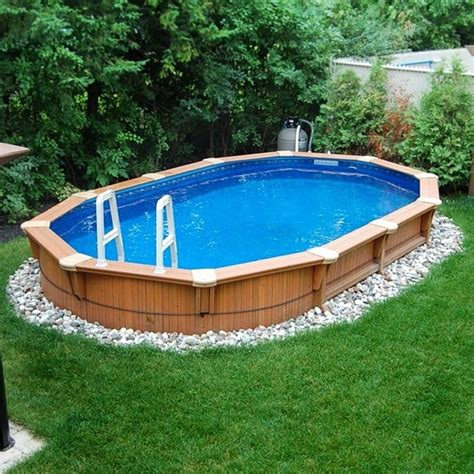 backyard pools above ground backyard design ideas with above ground pool home