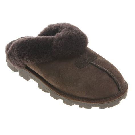 uggs coquette slippers fast shipping new womens ugg coquette slippers chocolate