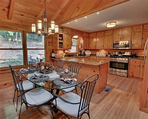 Log Cabin Dining Room Log Cabin Pinterest | cabin dining room beautiful log cabin dining rooms