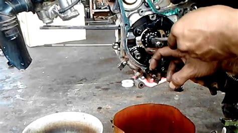 Pompa Oli Vario 125 Honda 1 Set cara mudah ganti gigi pompa oli motor honda supra x