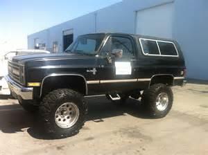 1987 chevy blazer cars